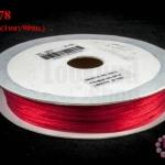 เชือกหางหนู สีแดง 3มิล(1หลา/90ซม.)