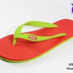 รองเท้าแตะ Hippo Bloo ฮิปโป บลู สีเขียวแดง เบอร์ 9,9.5,10,10.5,11,12,13 สำเนา