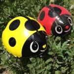 Lady Bug Yellow Walking Balloons - แมลงเต่าทองสีเหลืองบอลลูน / Item No. TL-K008