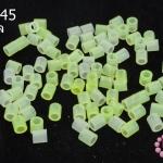 เม็ดบีทรีดร้อน สีเขียวอ่อนใส 5 มิล (1ขีด/100กรัม)