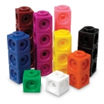 ของเล่นเด็ก ของเล่นเสริมพัฒนาการ Mathlink Cubes Set of 1000 (ส่งฟรี)