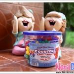 [รีวิว] ของเล่นเด็ก ของเล่นเสริมพัฒนาการ Three Bear Family Counters: Rainbow Set
