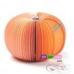 สมุดโน๊ตรูปผลไม้ Notepaper : ส้ม PA0058
