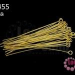 ตะปูเลข9หรืออายพิน สีทอง 50มิล (20 กรัม)