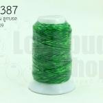 เชือกเทียน ตราลูกบอล(ม้วนเล็ก) สีเขียว 909(1ม้วน)