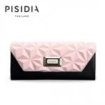 กระเป๋าแบรนด์เนม PISIDIA รุ่น SEVILLA สีชมพู-ดำ (ส่งฟรี EMS)