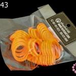 ทีวัดห่วงแหวน สีส้ม (1ชิ้น)