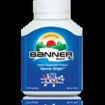 Banner Bright แบนเนอร์ ไบร์ท อาหารเสริมบำรุงสมอง เสริมสร้างความจำ บำรุงระบบประสาท 30 แคปซูล [ขายดี]
