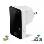 เพิ่มสัญญาณ wifi ติดตั้งได้ง่ายไม่ต้องเดินสายไม่ต้องลงโปรแกรม Best Portable +9dBi Wireless WiFi Access Point 300 LAN Broadband Router Signal Repeater