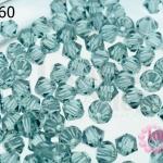 คริสตัลสวารอฟสกี้ (SWAROVSKI) สีเทาใส(217) 4มิล(100เม็ด)