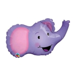 ลูกโป่งฟลอย์ หน้าช้าง - Elephant Face Foil Balloon / Item No. TL-B050
