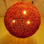 โคมไฟหวายแบบแขวนเพดาน Rattan Ceiling Lamp (RCL002)