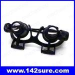 GLS001: แว่นตาขยาย แว่นตาซ่อมงาน แว่นตาซ่อมนาฬิกา 9892GJ 10X 15X 20X 25X LED Magnifier Double Eye Glasses Loupe Lens 2 LED Lights