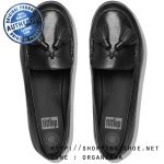 US6.5 : Fitflop F-Sporty Tassel Loafer Black ของแท้ นำเข้าจาก USA และ UK