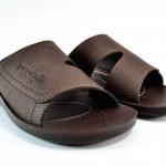 รองเท้าหนัง Aerosoft 8181 น้ำตาล