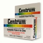 Centrum Multi Vitamins เซ็นทรัม วิตามินรวมและเกลือแร่รวม ขนาด 30 แคปซูล [ขวดเล็ก]