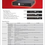เครื่องบันทึกกล้องวงจรปิด DVR CCTV (Fu-1214/1218/1226)