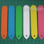ป้ายชื่อพลาสติก PVC หลากสี (20 อัน)