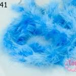 ขนมิงค์เฟอร์ สีฟ้า (1เส้น)
