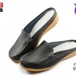 รองเท้าแฟชั่นหุ้มส้น CSB ซีเอสบี รุ่น BG92-403 สีดำ เบอร์ 36-40