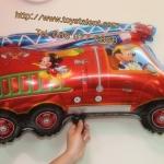 ลูกโป่งฟลอย์ Mickey Mouse รถดับเพลิง - Mickey Mouse Fire Fighter Foil Balloon / Item No. TL-A049 กรุณาระบุสีที่ต้องการ
