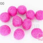 ลูกบอล Feit 15มิล #3 สีชมพู (5ลูก)