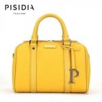 กระเป๋าแบรนด์เนม PISIDIA รุ่น WELKIN สีเหลือง (ส่งฟรี EMS)