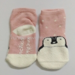ถุงเท้าเด็กกันลื่นอย่างหนา ไซส์ 10-12,12-14 ซม. MSH75