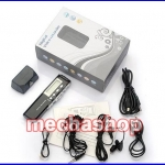 เครื่องบันทึกเสียง หน่วยความจำขนาด4GB Multi-function USB LCD Digital mini Audio Voice Phone Recorder Dictaphone MP3 Player+Support Telephone recording