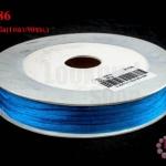 เชือกหางหนู สีน้ำเงิน 3มิล(1หลา/90ซม.)