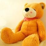 ตุ๊กตาหมีหลับ ตุ๊กตาตัวใหญ่ ขนาด 1.2 เมตร สีน้ำตาลอ่อน