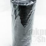 ริบบิ้นผ้าซาติน สีดำ 20มิล(14ม้วน)