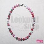 DiY idea 2 : สร้อยหินเทพประทานพรฮกล๊กซิ่ว Fu Lu Shou Stone Necklace