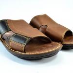 รองเท้าหนัง Aerosoft 0303 น้ำตาล