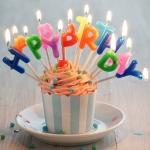 เทียนวันเกิดตัวอักษร Happy Birthday/ Item No.TL-N001