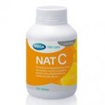 Mega We Care nat C วิตามินซี 1000 mg 30 เม็ด สร้าง ภูมิคุ้มกันภูมิแพ้ ป้องกันโรคต้อกระจก และโดยเฉพาะ บำรุงผิวพรรณ ทำให้ผิวใส สร้างคอลลาเจน