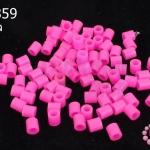 เม็ดบีทรีดร้อน สีชมพู 5 มิล (1ขีด/100กรัม)