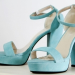 Sexy Pop High Heels { blue }
