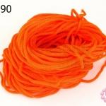 เชือกร่ม สีส้ม (1มัด/20กรัม)