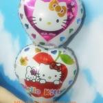 ลูกโป่งฟลอย์หัวใจต่อกัน ลายคิตตี้ - Kitty 2 Heart Foil Balloon / Item No. TL-A121