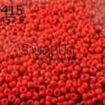 ลูกปัด Miyuki สีแดงสด รหัส457F