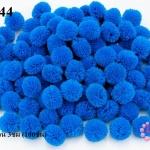 ปอมปอมไหมพรม สีน้ำเงินอ่อน 3ซม (100ชิ้น)
