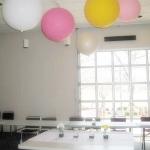"""ลูกโป่งกลม สีขาว ไซส์ 18 นิ้ว จำนวน 1 ใบ (Round Balloon - Standard White Color 18"""")"""