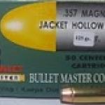 ลูกกระสุน .357 JHP Bullet