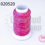 เชือกเทียน ตราลูกบอล(ม้วนเล็ก) สีชมพู(1ม้วน)