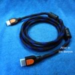 สายต่อ HDMI 1.4V ยาว 1.8 เมตร แบบสายถักกลม