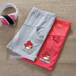 กางเกงคลุมท้องผ้าคอตตอนขาสั้น ลาย Angry Birds : SIZE M รหัส PN084
