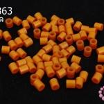 เม็ดบีทรีดร้อน สีน้ำตาลทอง 5 มิล (1ขีด/100กรัม)
