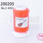 เชือกเทียน ตรากีต้าร์(ม้วนเล็ก) สีส้มสะท้อนแสง 921(1ม้วน)