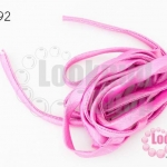 เชือกผ้า ไส้ไก่ สีม่วงอ่อน (1เส้น/2เมตร)